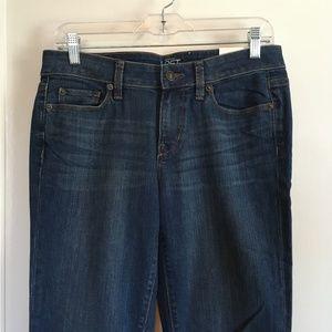 LOFT Modern Straight Jeans, Size 6, NWT